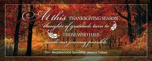 Corefact Seasonal - Thanksgiving Poem