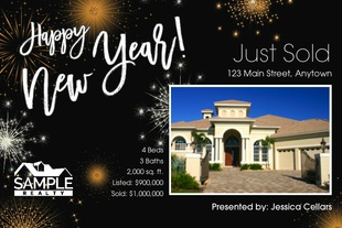 Corefact Seasonal - Just Listed/Sold  New Year