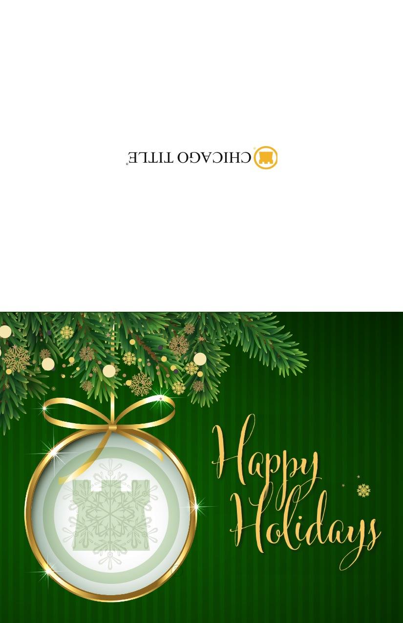 Corefact Holiday Card #2 - Custom
