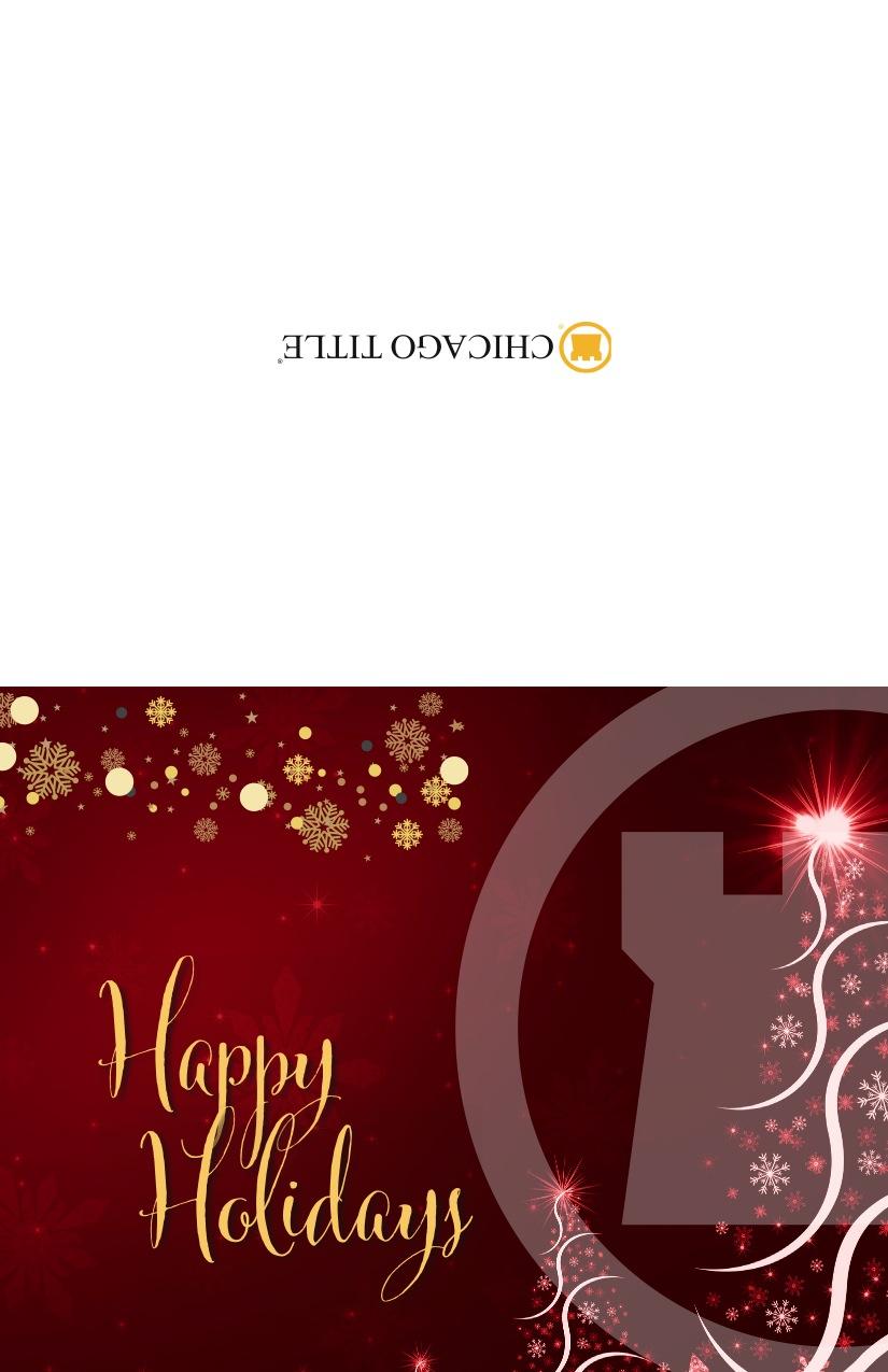 Corefact Holiday Card #3 - Custom