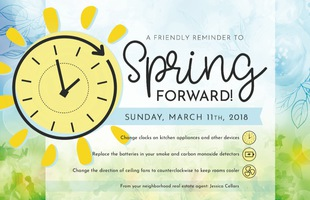 Corefact Seasonal - Spring Forward Reminder