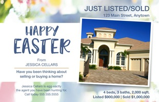 Corefact Seasonal - Just Listed/Sold Easter