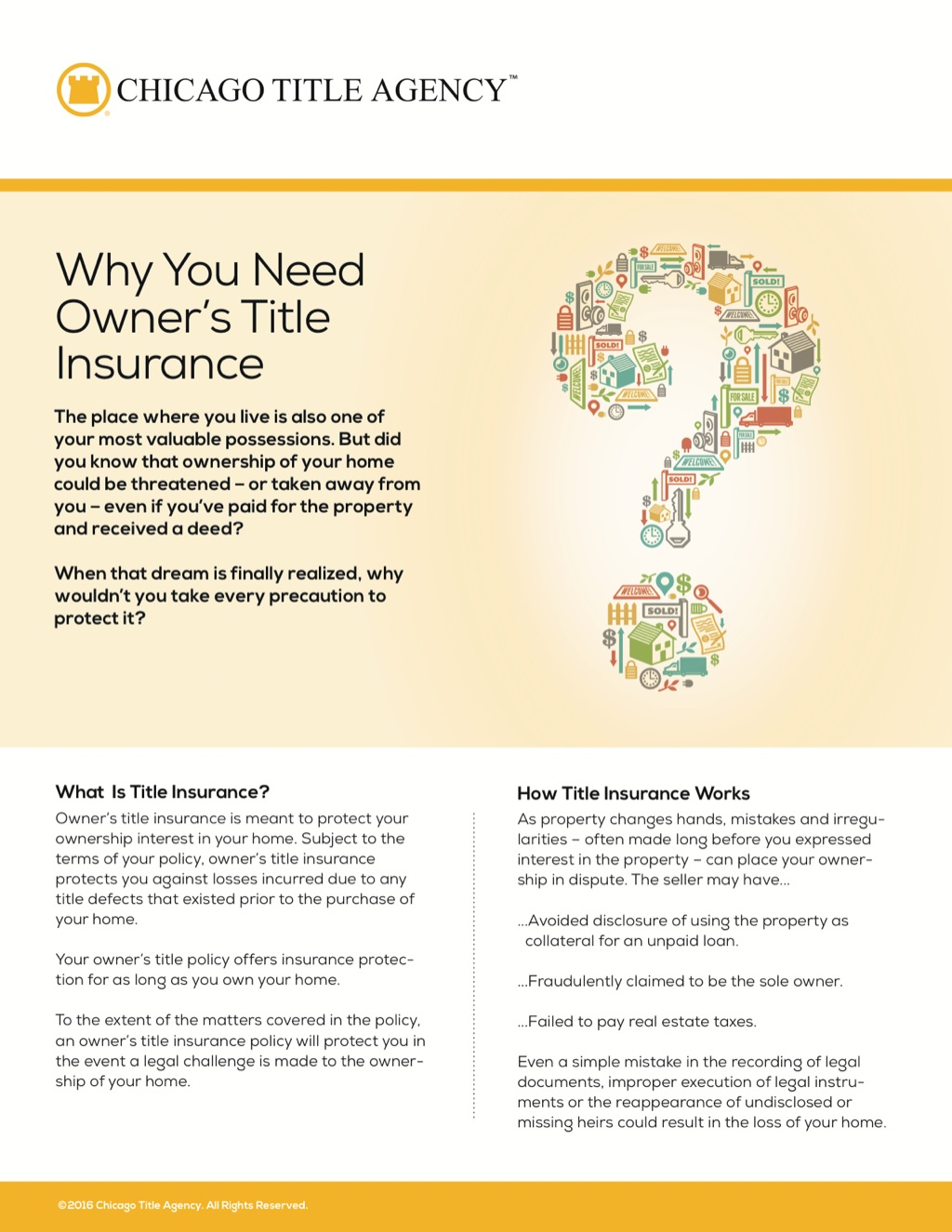Corefact Why Owner's Title Insurance - CTA