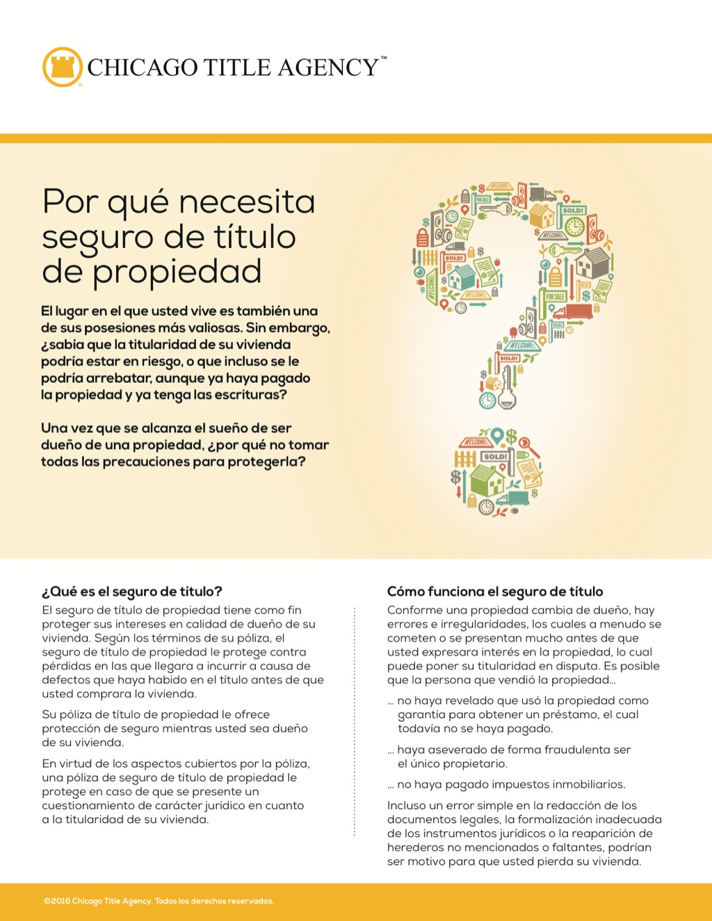 Corefact Why you need owner's title insurance - Spanish - CTA