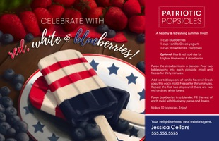 Corefact Seasonal - Patriotic Popsicles
