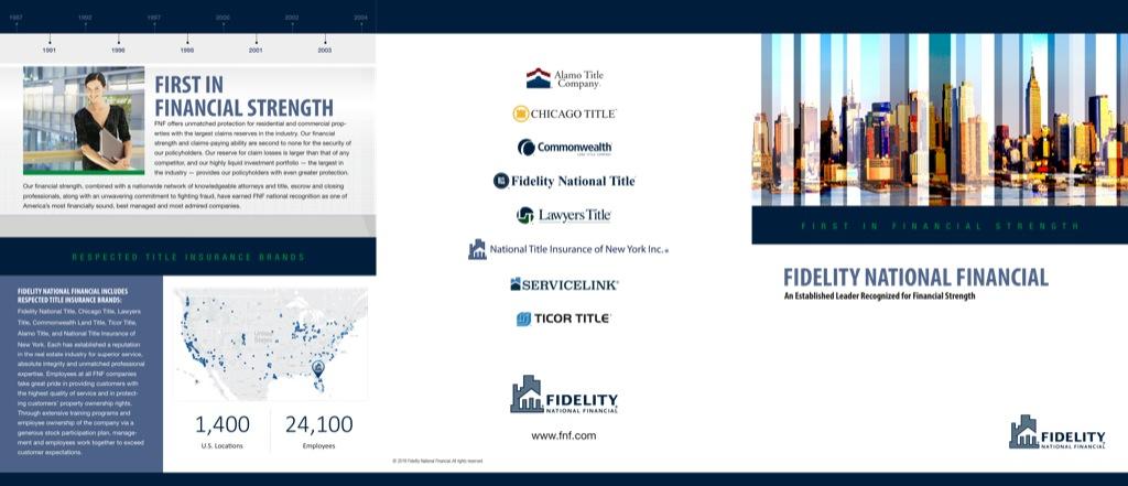 Corefact FNF Financial Strength Brochure