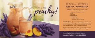 Corefact Seasonal - Peach & Lavender  Iced Tea
