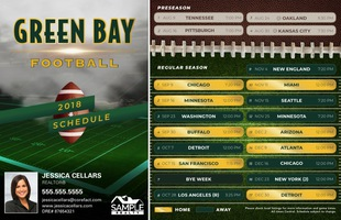 Corefact Magnets - FB  Green Bay (Print Only)