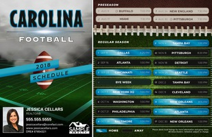 Corefact Magnets - FB Carolina (Mailer)