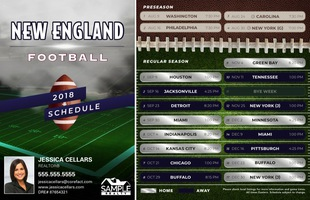 Corefact Magnets - FB New England (Mailer)