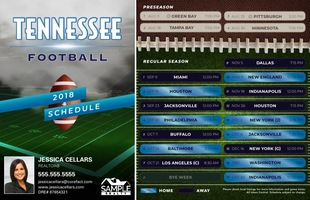 Corefact Magnets - FB Tennessee (Mailer)