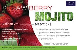Corefact Recipe - Strawberry Mojito