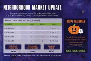 Corefact Seasonal - Market Update Halloween (Auto)