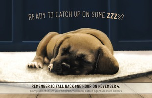 Corefact Seasonal - Fall Back Puppy