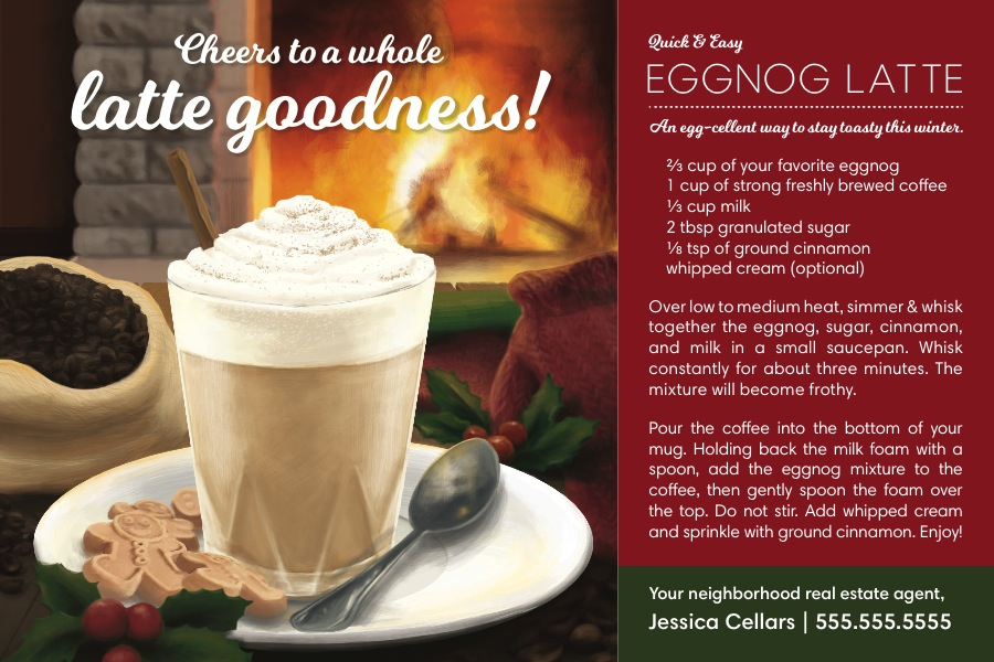 Corefact Seasonal - Eggnog Latte