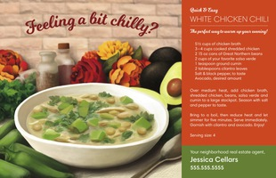 Corefact Seasonal - White Chicken Chilli