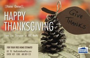 Corefact Thanksgiving - Pine Cone