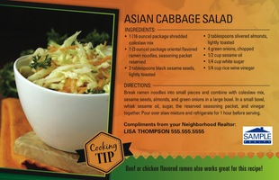 Corefact Asian Cabbage Salad