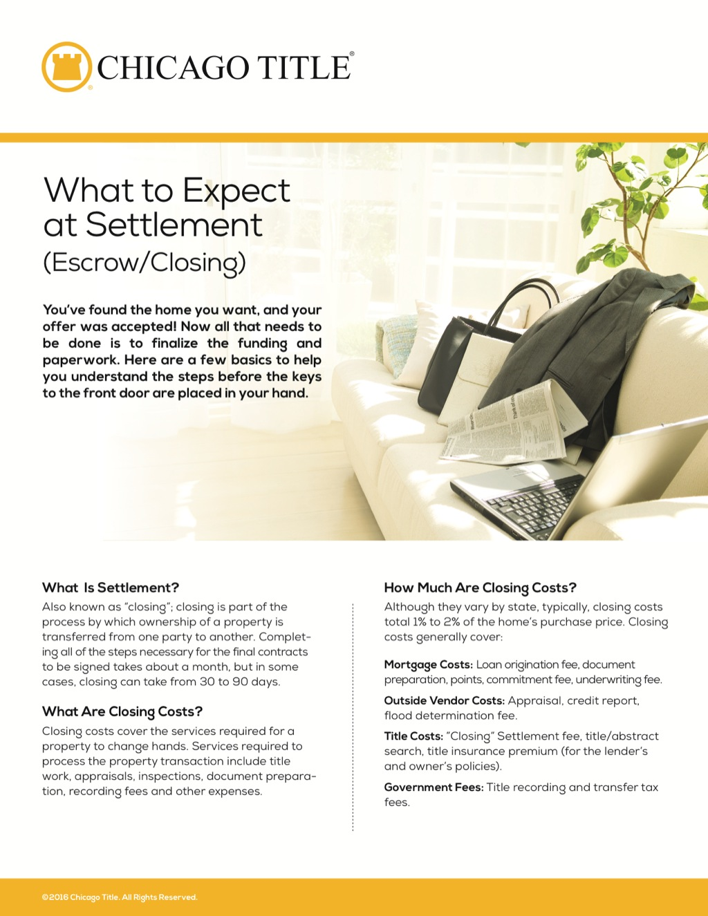 Corefact What to Expect Settlement - CTT