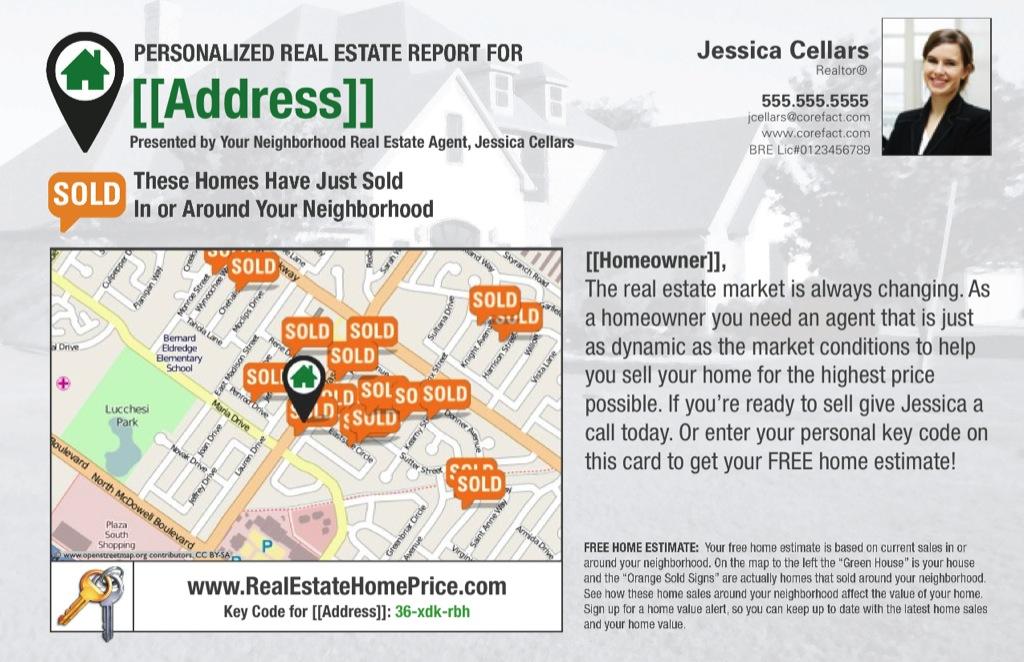 Corefact Home Estimate - Simple Stats 01