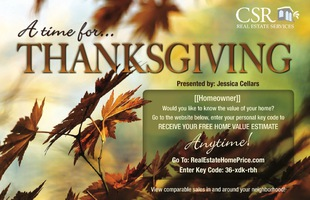 Corefact Seasonal - Home Estimate Thanksgiving