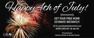 Corefact Seasonal - Home Estimate Fireworks