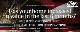 Corefact Seasonal - Home Estimate Patriotic