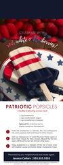 Corefact Door Hanger - Patriot Popsicles