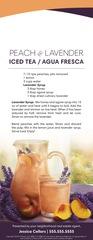 Corefact Door Hanger - Peach & Lavender Iced Tea