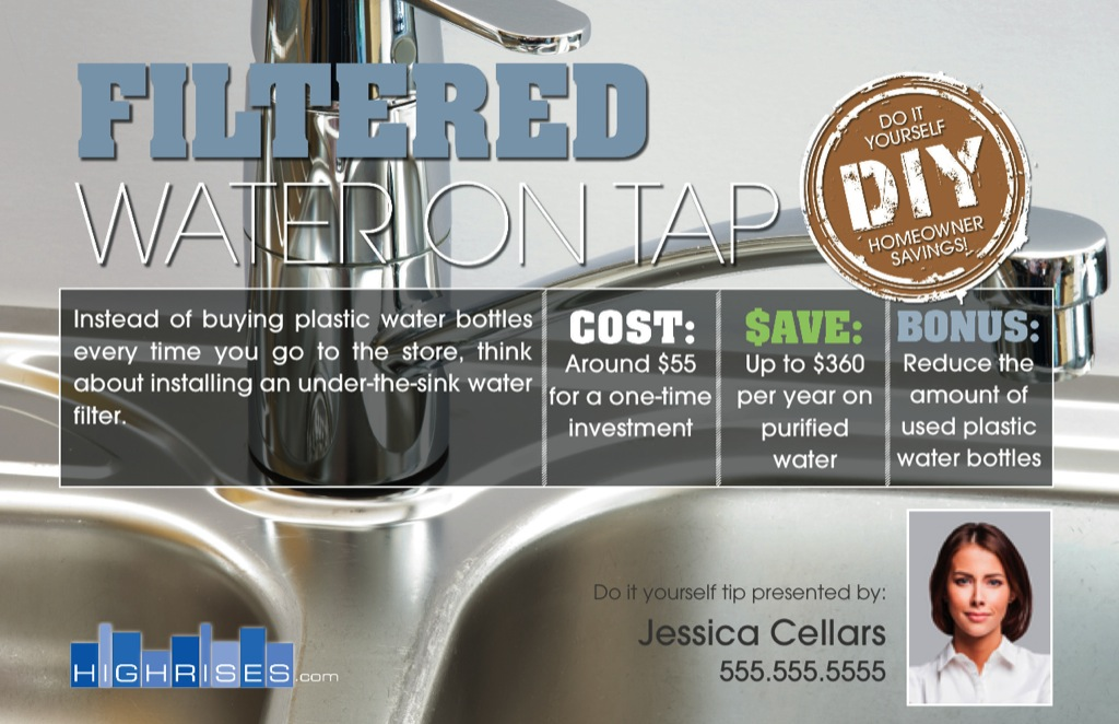 Corefact DIY - Filtered Water on Tap