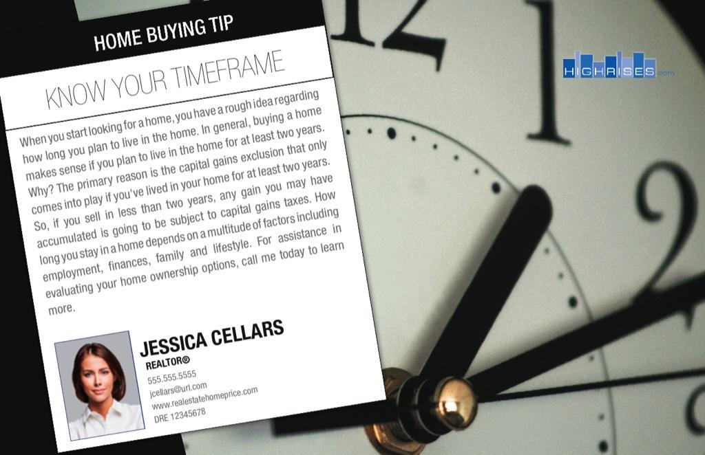 Corefact Series - Buyer Tips - Timeframe