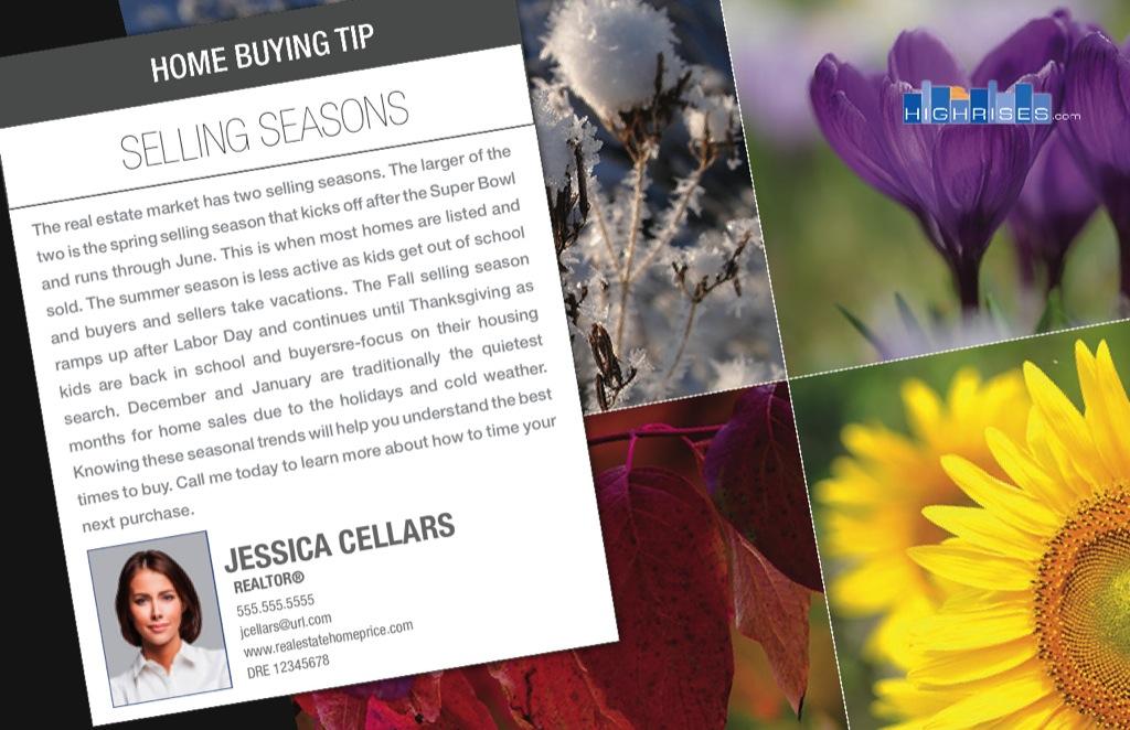 Corefact Series - Buyer Tips - Selling Seasons