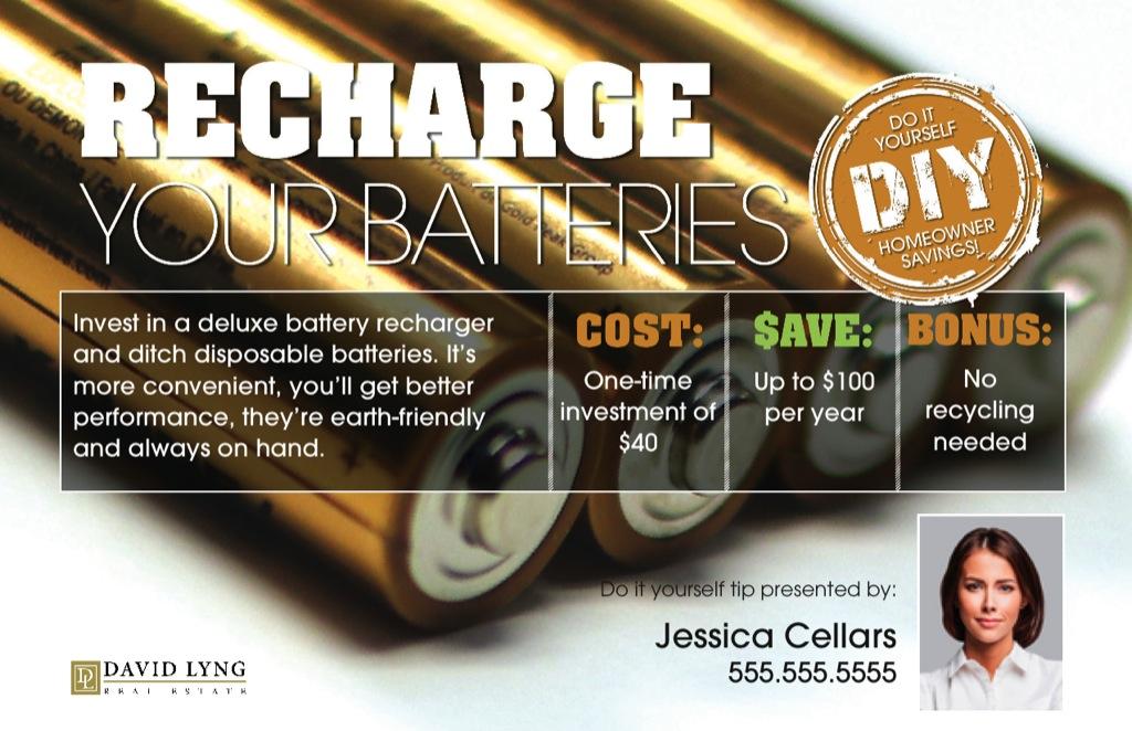 Corefact DIY - Recharge Your Batteries