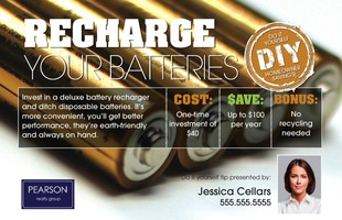 Corefact DIY - Recharge Your Batteries