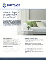 Corefact What to Expect at Settlement