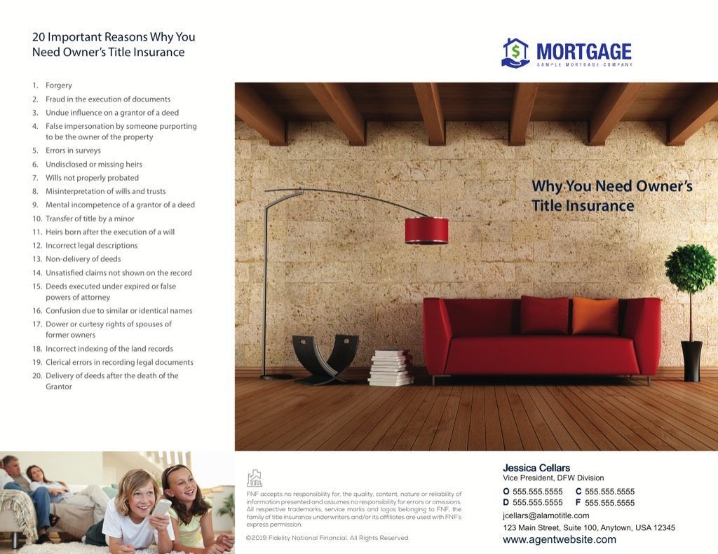 Corefact Why You Need Owner's Title Insurance (red couch)
