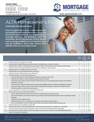 Corefact ALTA Comparison 3-Policy Chart
