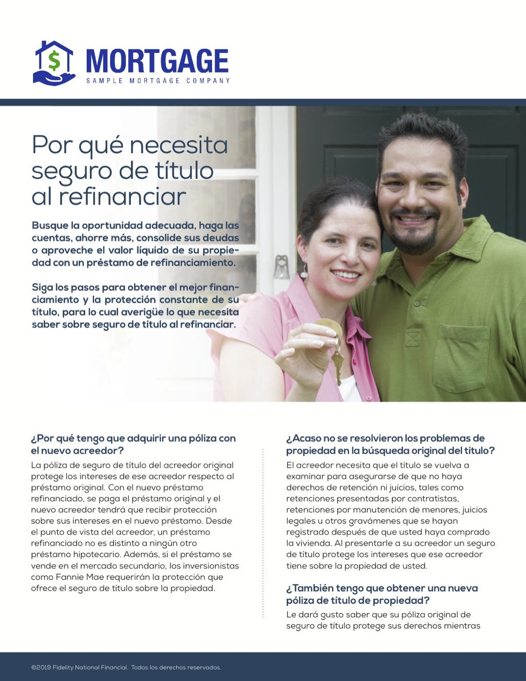 Corefact Why You Need Title Insurance on a Refi - Spanish
