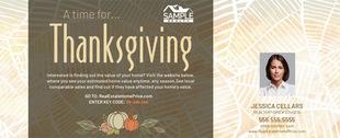 Corefact Seasonal - Home Estimate Thanksgiving