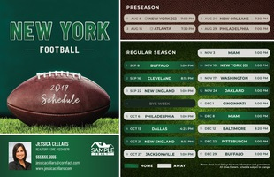 Corefact Sports - Football NY Green White