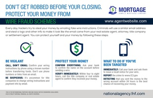 Corefact ALTA Wirefraud Postcard - FNTG AGENCY