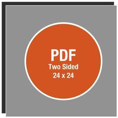Corefact Upload - 24 x 24 A-Frame Sign