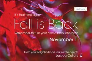 Corefact Fall Back - Red Leaf