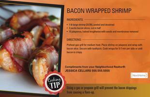 Corefact Bacon Wrapped Shrimp