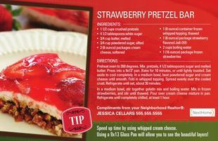 Corefact Strawberry Pretzel Bar