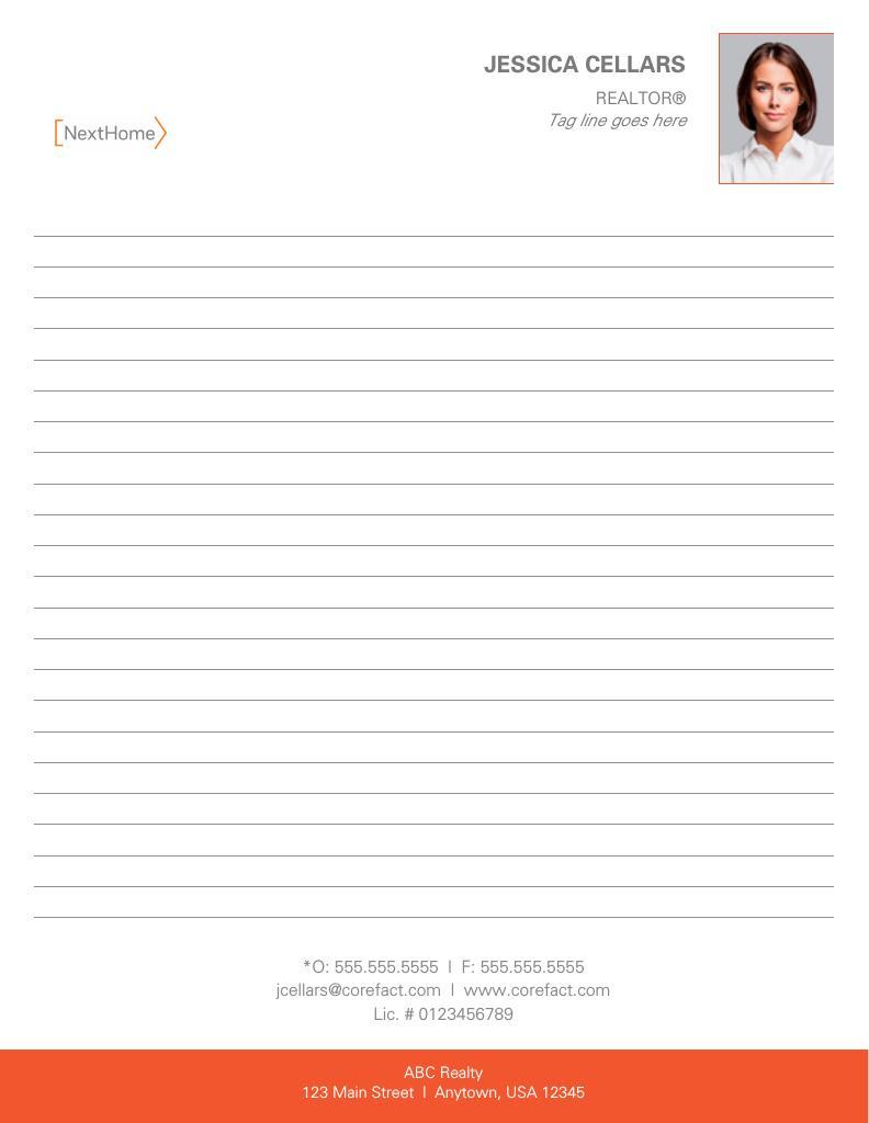 Corefact NextHome - 8.5 x 11 Notepad