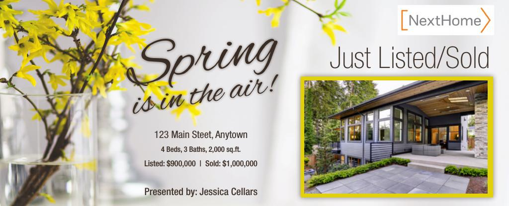 Corefact Sesonal Just Listed/Sold Spring