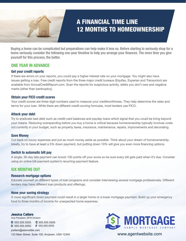 Corefact A Financial Time Line - AGENT