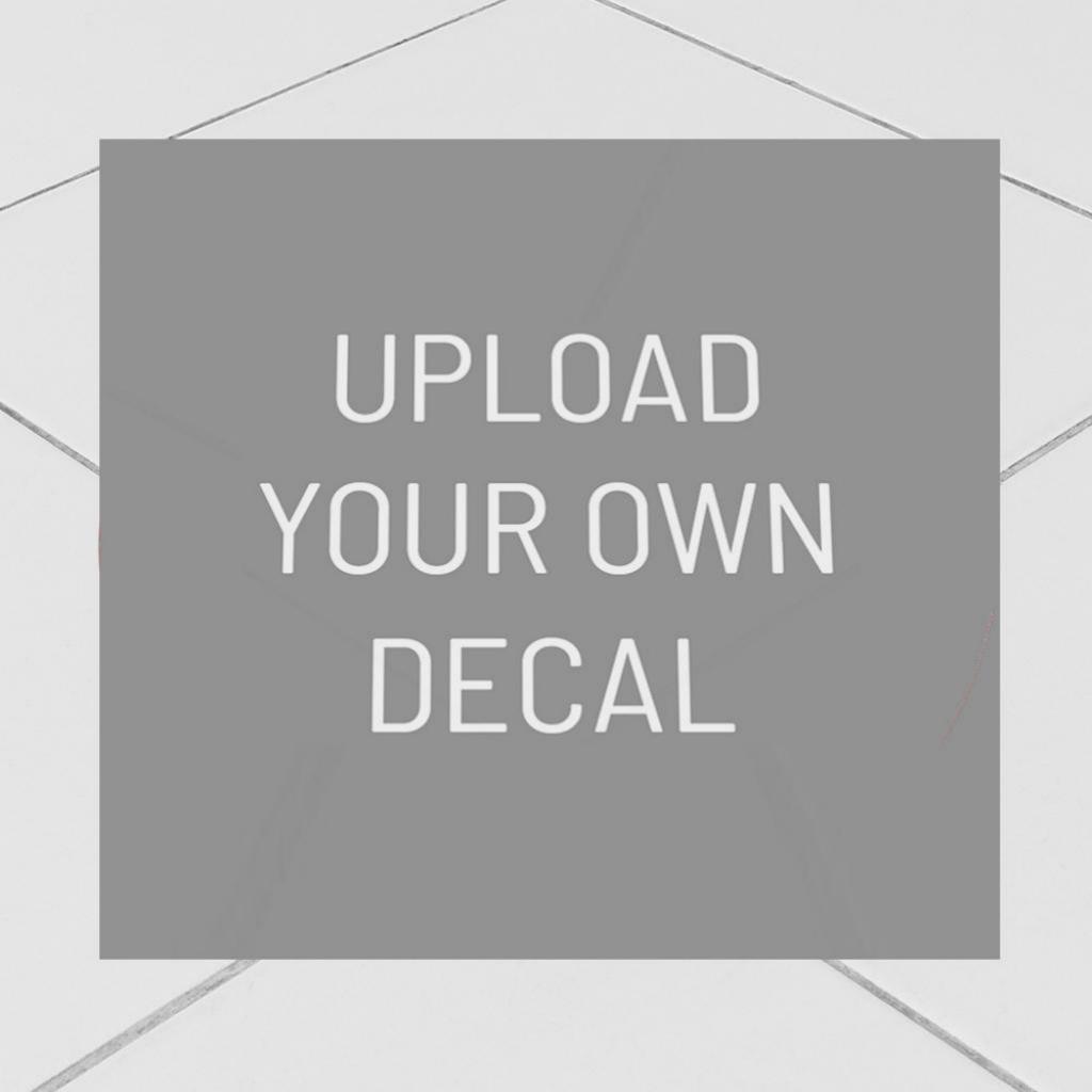 "Corefact Upload Art - Floor Graphic 10"" Square"