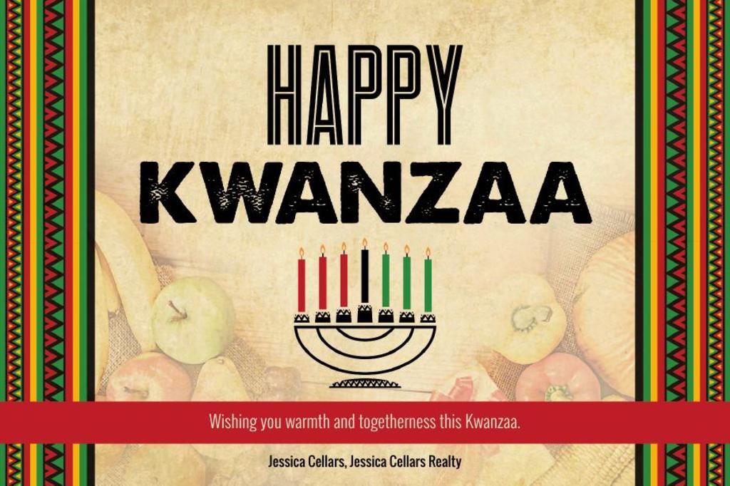 Corefact Seasonal - Happy Kwanzaa